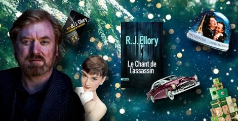 Le Noël des auteurs : 5 questions délicieusement festives à R. J Ellory