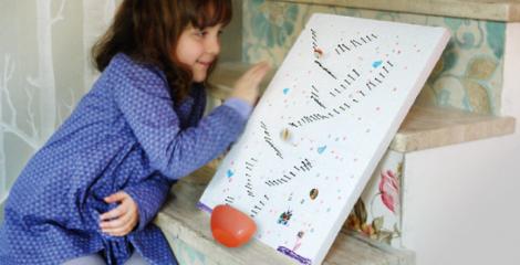 [Activité avec les enfants] La planche à clous en parcours de billes