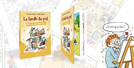 Dans les coulisses de la création d'une BD avec l'illustratrice, la coloriste et l'éditrice