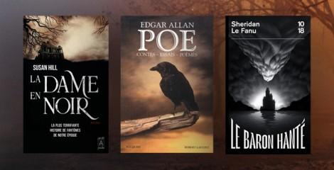 Terreurs nocturnes : les classiques de la littérature d'épouvante à (re)découvrir
