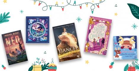 Le rayon jeunesse fête Noël : 50 livres et jeux qui vont ravir les enfants et les ados