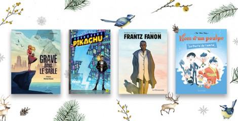 Noël en bulles : nos bandes dessinées, mangas et romans graphiques pour petits et grands