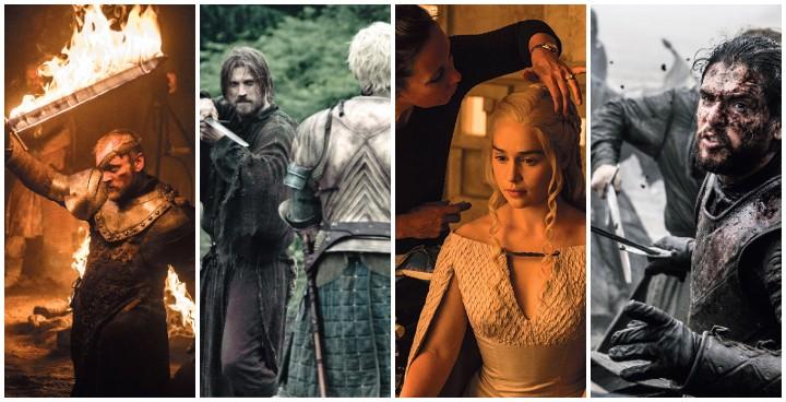 Les coulisses de Game of Thrones selon la photographie de la série