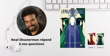 5 questions à Neal Shusterman