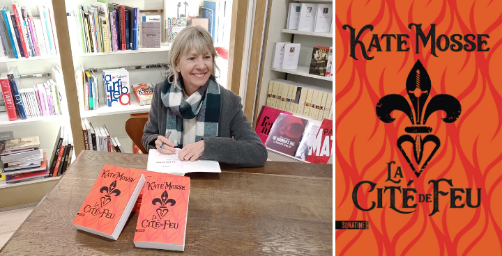 Kate Mosse : le mot de l'auteure de La Cité de feu