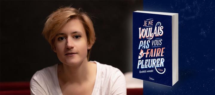 Charlotte Monnier aborde la lutte contre l'anorexie avec son premier roman sensible et poignant