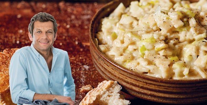Le risotto de crozets au reblochon de Laurent Mariotte