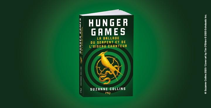 Découvrez les origines des Hunger Games dans un nouveau roman!