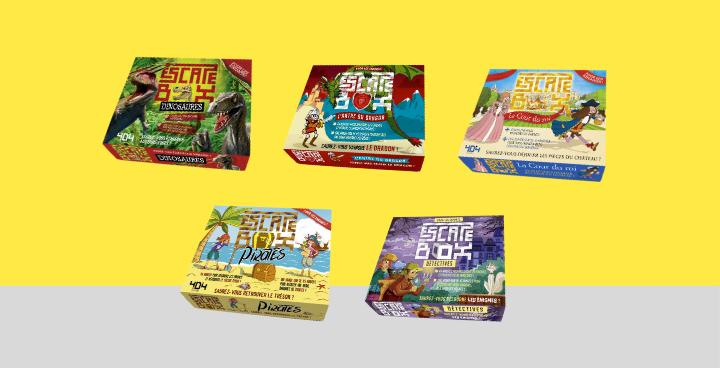 18 idées d'escape games chez soi avec des enfants