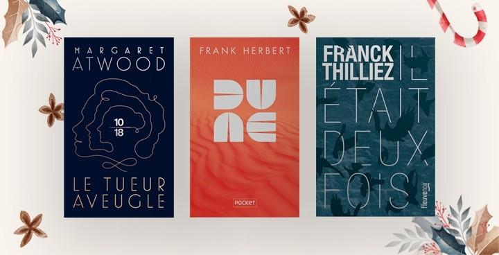 Les beaux collectors : romans, thrillers... nos livres se parent de mille feux pour Noël