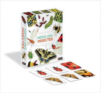 Mémo des insectes - Un jeu de memory pour apprendre en s'amusant en famille - Dès 4 ans