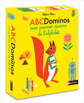 ABC Dominos - Mon premier domino de l'alphabet -  Dès 4 ans