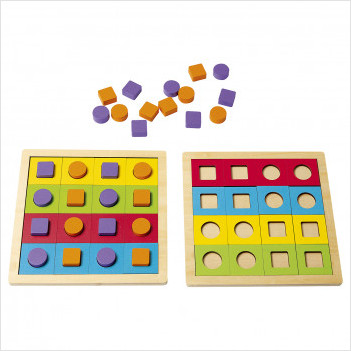 Atelier Quadriformes 2 - Complément 2 enfants