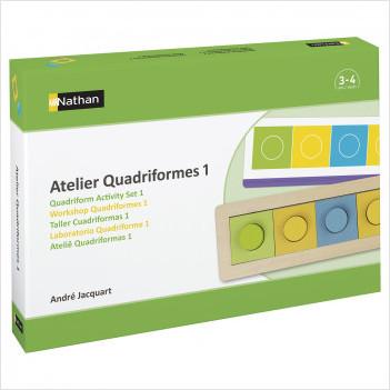 Atelier Quadriformes 1 pour 2 enfants