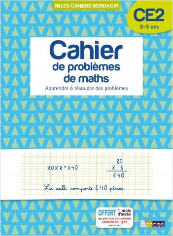 Cahier de problèmes de maths CE2