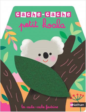 Cache-cache petit  koala  - Livre matière - éveil -  Dès 6 mois