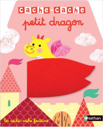 Cache-cache petit dragon - Livre matière - éveil -  Dès 6 mois