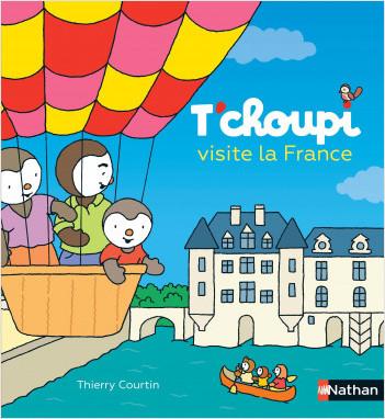 T'choupi visite la France - Grand album dès 2 ans