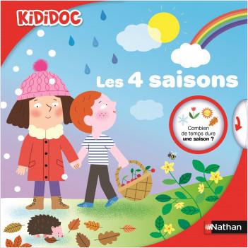 Les 4 saisons - Livre animé Kididoc- Dès 4 ans
