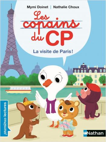 Les copains de CP, visitons Paris ! - Premières Lectures CP Niveau 1 - Dès 6 ans