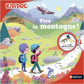 Vive la montagne - Livre animé Kididoc - Dès 4 ans