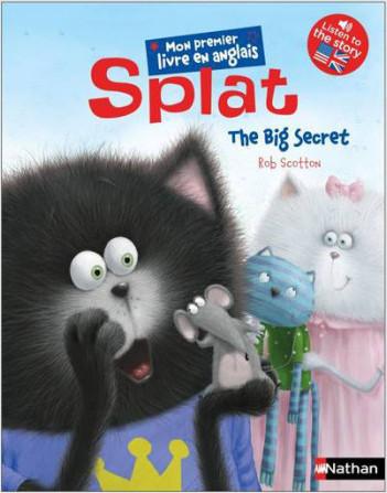 Splat - The Big Secret - Album en anglais - Dès 5 ans