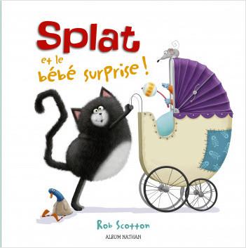 Splat et le bébé surprise - Dès 4 ans