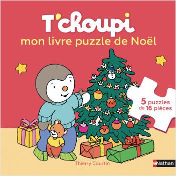 Le Livre-puzzle de T'choupi, Joyeux Noël ! - Dès 2 ans
