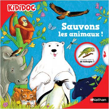 Sauvons les animaux - Livre animé Kididoc dès 5 ans
