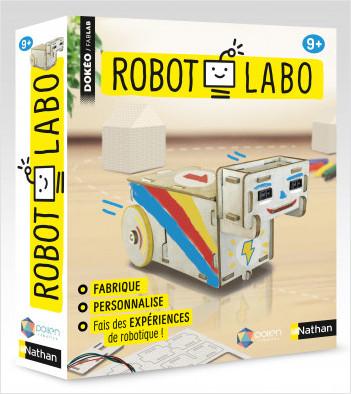 Robot labo - Fabrique et programme ton robot sans ordinateur - Dès 9 ans