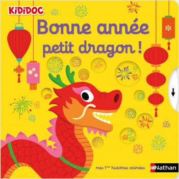 Kididoc - Bonne année petit dragon ! - Livre animé - dès 1 an