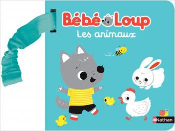 Bébé loup - Les animaux - Livre d'éveil à accrocher - Dès 6 mois