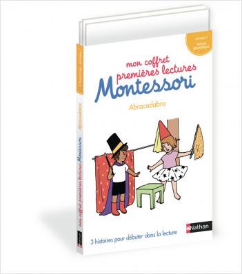 Mon coffret premières lectures Montessori - Abracadabra ! - Niveau 1 - 4/7 ans