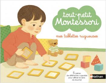 Mes tablettes rugueuses - Tout-petit  Montessori - Dès 18 mois