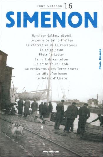 Tout Simenon - tome 16