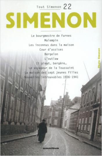 Tout Simenon - tome 22