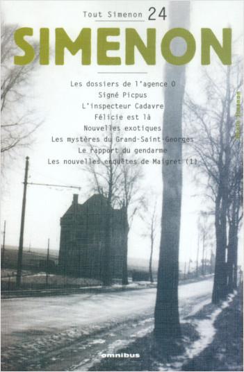 Tout Simenon - tome 24
