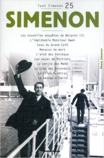 Tout Simenon - tome 25