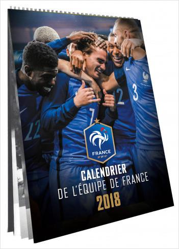 Calendrier officiel des bleus 2018 - FFF