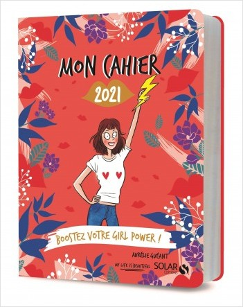 Mon cahier 2021 girl power