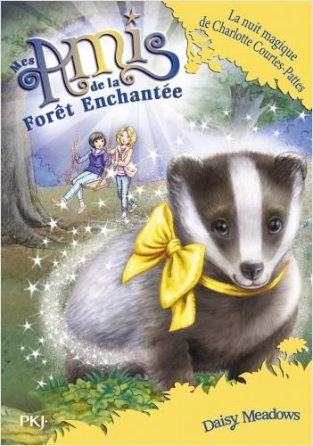 Mes Amis de la forêt enchantée - tome 15 : La nuit magique de Charlotte Courtes-Pattes