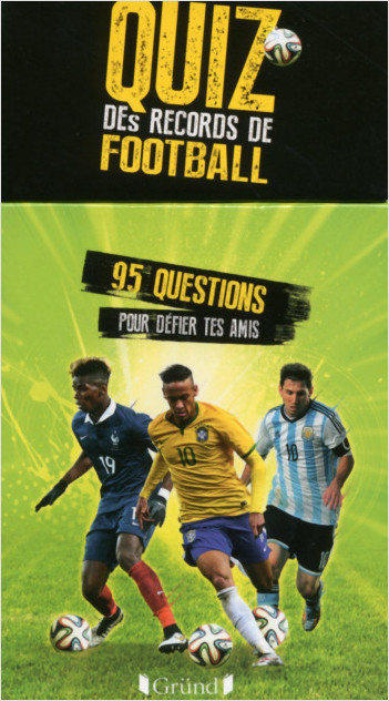Boîte à questions - Quiz des records du football