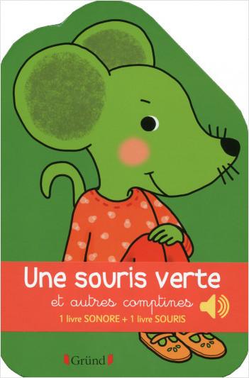 Coffret Une souris verte et autres comptines