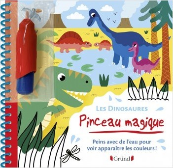 Pinceau magique - Les Dinosaures