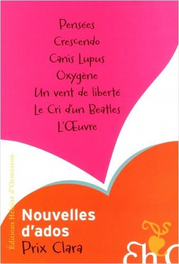 Prix Clara 2011 - Nouvelles d'ados