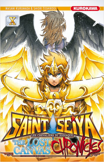 Saint Seiya - Les Chevaliers du Zodiaque  - The Lost Canvas - La Légende d'Hadès - Chronicles - tome 10