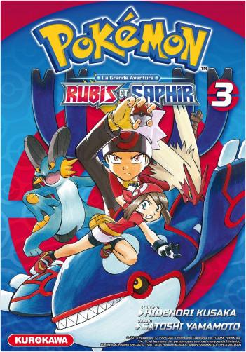 Pokémon - Rubis et Saphir - tome 03
