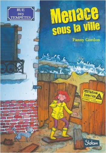 Rue des tempêtes (T1) : Menace sous la ville -  Lecture roman jeunesse policier - Dès 8 ans