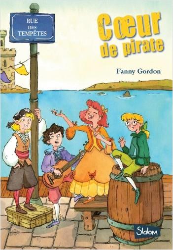 Rue des tempêtes (T2) : Cœur de pirate -  Lecture roman jeunesse policier - Dès 8 ans