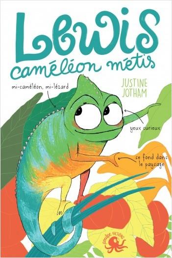 Lewis, caméléon métis - Lecture roman jeunesse tolérance - Dès 8 ans